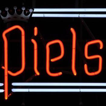 Piel's Beer neon