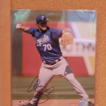 Alex Gordon Autographed Photo