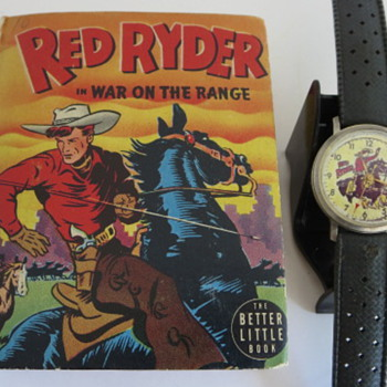 Red Ryder In War On The Range - Books