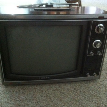 '70s Sony Trinitron Color TV