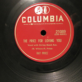 Ray Price 78&#039;s - Records