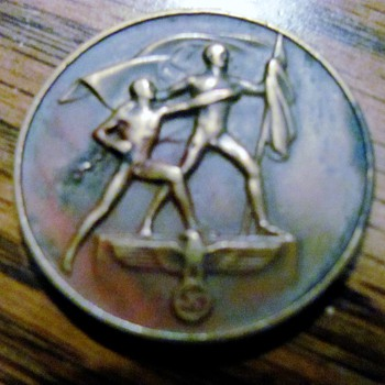 WWII Sudetenland Medal - Military and Wartime