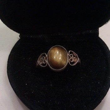 Vintage Tigers Eye Ring? - Fine Jewelry