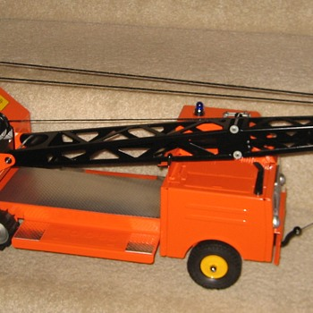 Heavy-Duty Tracked 'State Hi-Way Dept.' Mobile Crane