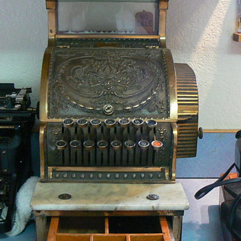Antique National Cash Register - Coin Operated