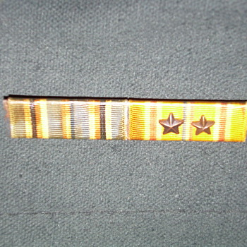 My dad's Asian Pacific Medal Ribbon - Military and Wartime