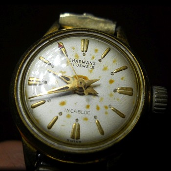 Old CHAPMAN WATCH .... with SPEIDEL Metal Watch Band - Wristwatches