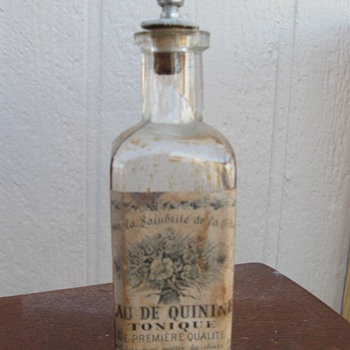 Paris Quinine Mystery - Bottles