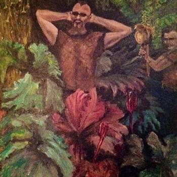 """Golden Gate park"" oil on canvas - Visual Art"