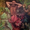 """Golden Gate park"" oil on canvas"