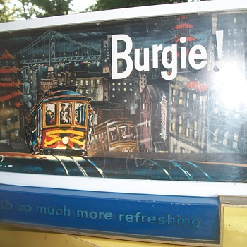 Burgie beer!  - Breweriana