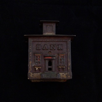 J & E Stevens Cupola Bank - Coin Operated