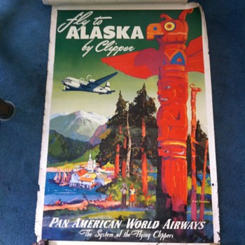 Old airline posters (part 1 of 2) - Posters and Prints
