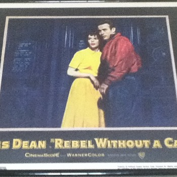 """Rebel Without a Cause"" Lobby Card"