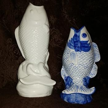 fish vases