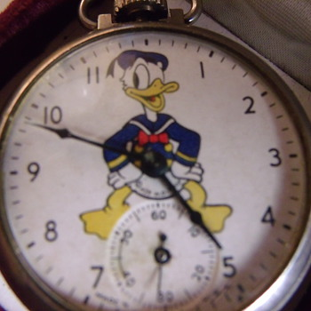 Ingersoll/Waterbury Donal Duck Pocket Watch - Pocket Watches