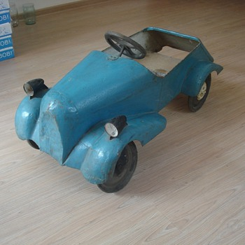 1935 pedal car from Russia