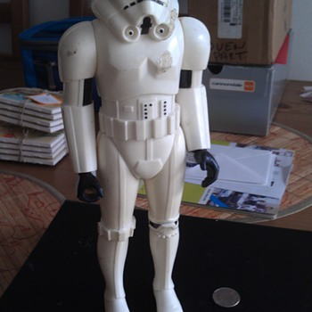 Vintage 1978 Original Star Wars Stormtrooper Figure General Mills