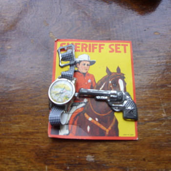 sheriffs set - Wristwatches