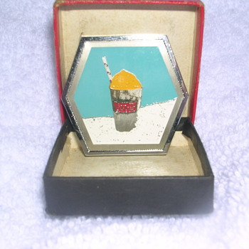 Frozen Coke &  Sprite tape measure in box - Coca-Cola