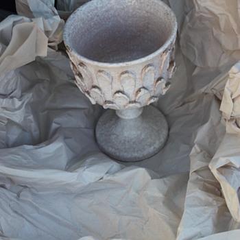 Italian Mid Century Goblet - Studio Pottery