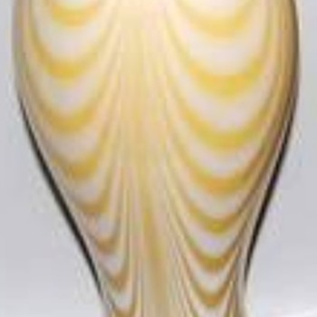 IMPERIAL LEAD LUSTRE DECOR 36 (2) - Art Glass
