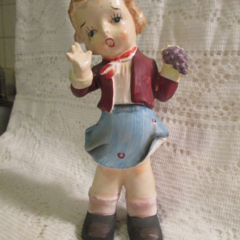 Figurine, bisque or chalkware? - Figurines