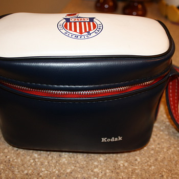 1972 Munich Olympics Kodak Camera Bag