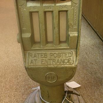 Parking lot meter?