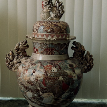 Large old Ginger Jar - Asian