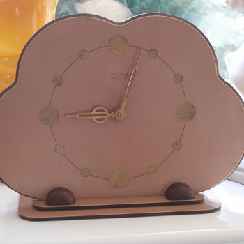 Art Deco Electric clock - Art Deco