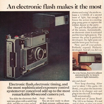 1969 - Polaroid Camera Advertisement - Advertising