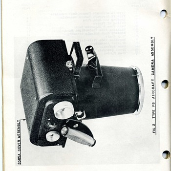 Keystone F 8 Aircraft Camera 
