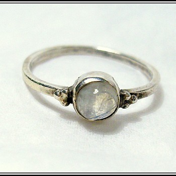 A Found Ring - Silver ? - Fine Jewelry
