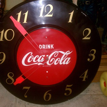 Coca Cola Clock Possibly 1979?? - Coca-Cola