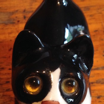 Winstanley kitty with glass eyes