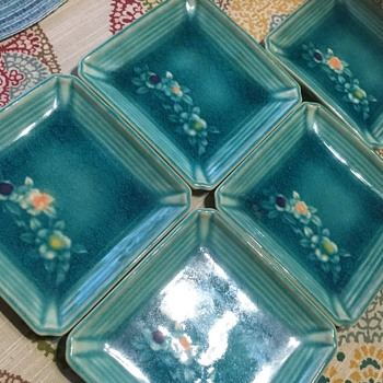 Need to know the maker of these - are these ashtrays? - Pottery