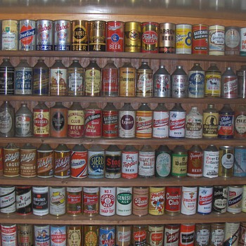 My Old Beer Can Collection