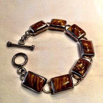 60's Sterling Silver Bracelet