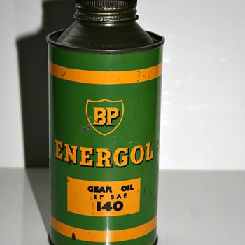 BP Energol oil can - Petroliana