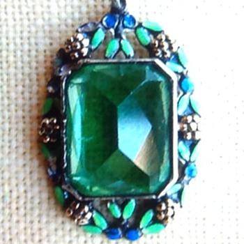 Art Deco pendant - Fine Jewelry