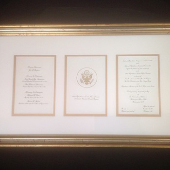 1982 Republican Senate - House to Honor President Ronald Reagan invitation - Paper