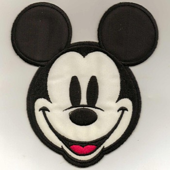 """Mickey Mouse"" Iron-on Patch - Advertising"
