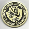 "PIN/BADGE - ""TO DO THE COMMON THING UNCOMMONLY WELL""  LUX - 1913"