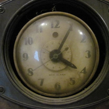 War Alarm Clock - Garage Find