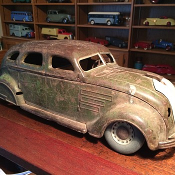1934 Chrysler Airflow by Cor-Cor, before and after.
