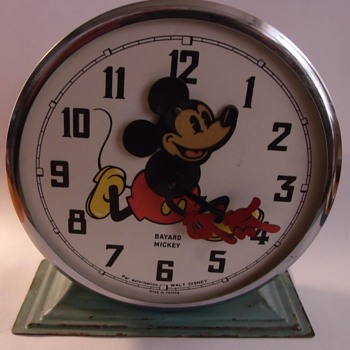 Finished Up on another Restoration Early Model Bayard Mickey Mouse - Clocks