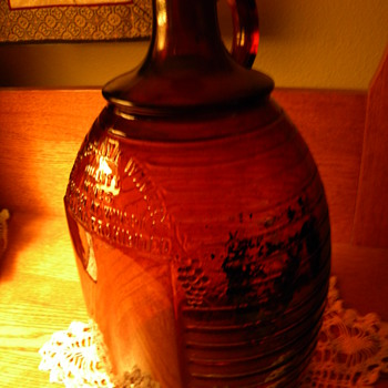 An Old Wine Bottle, The Burbank Winery Bottle - Bottles