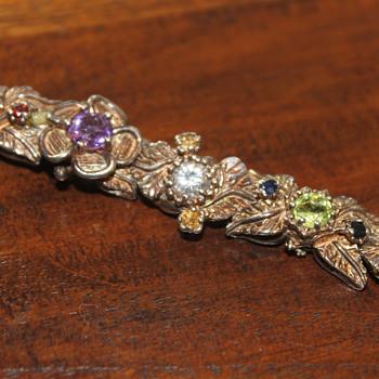 Sterling Silver Bracelet  - Fine Jewelry