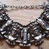vintage heavy chess piece bracelet